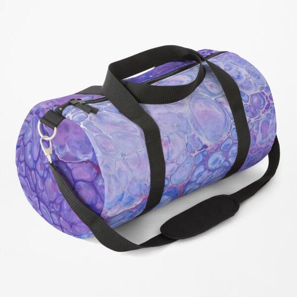 Lavender Bubbles  Duffle Bag