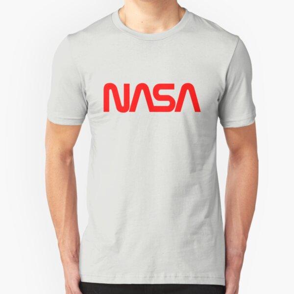 NASA Logo Slim Fit T-Shirt