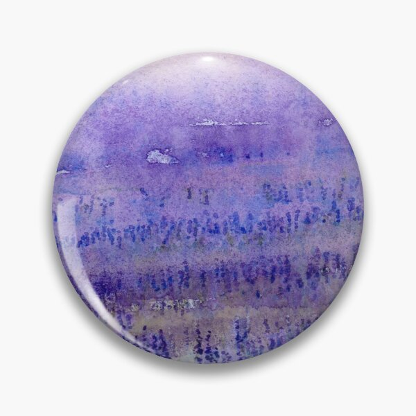 Lavender Field Pin