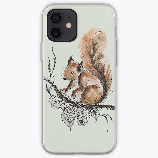 Squirrel  iPhone Soft Case
