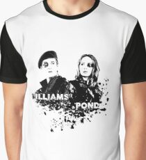 Amy Pond & Rory Williams Graphic T-Shirt