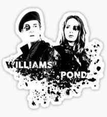 Amy Pond & Rory Williams Sticker