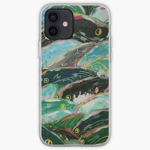 Les vagues de Ponyo Coque souple iPhone