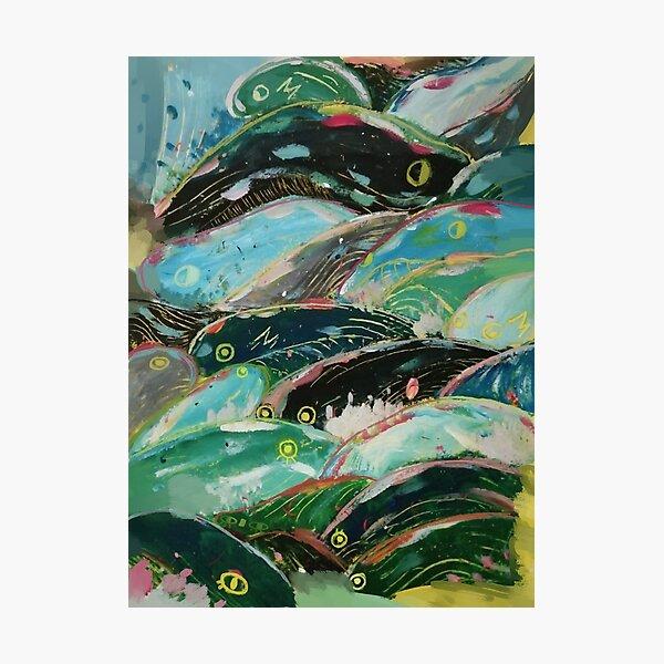 Ponyo's waves Photographic Print