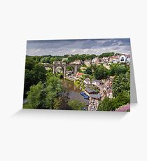 Viaduct over The Nidd Greeting Card