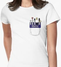 Doctor Who: Sonic Pocket Protector. Womens Fitted T-Shirt