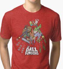 Rick & Morty - The Ball Fondlers Tri-blend T-Shirt