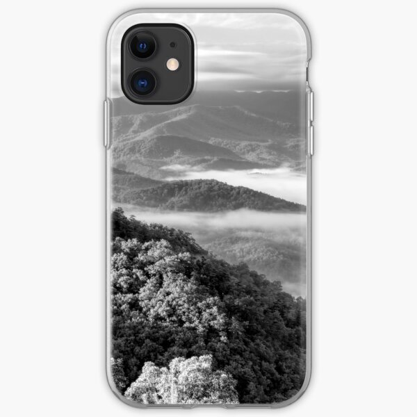 Smoky Mountain Sunrise iPhone Soft Case