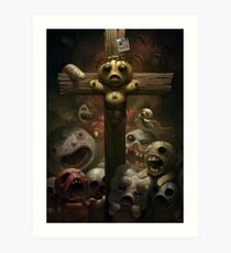Binding of Isaac print Art Print