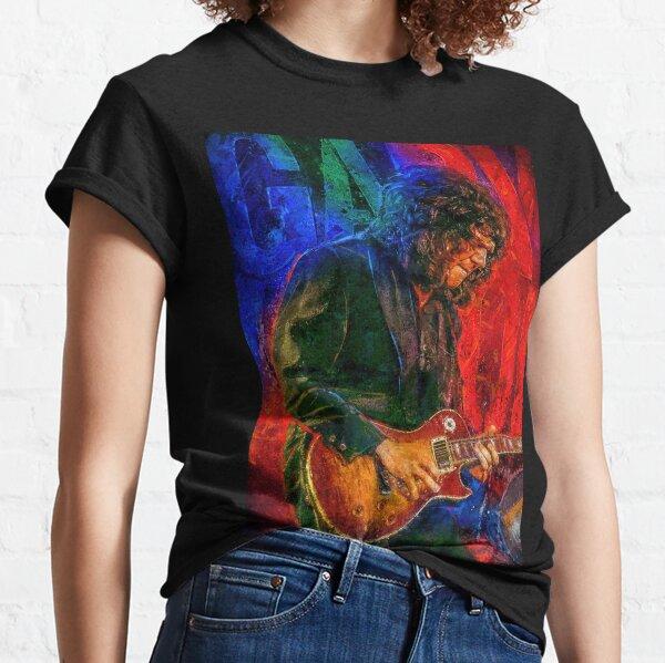 Gary Moore Tribute portrait art Classic T-Shirt