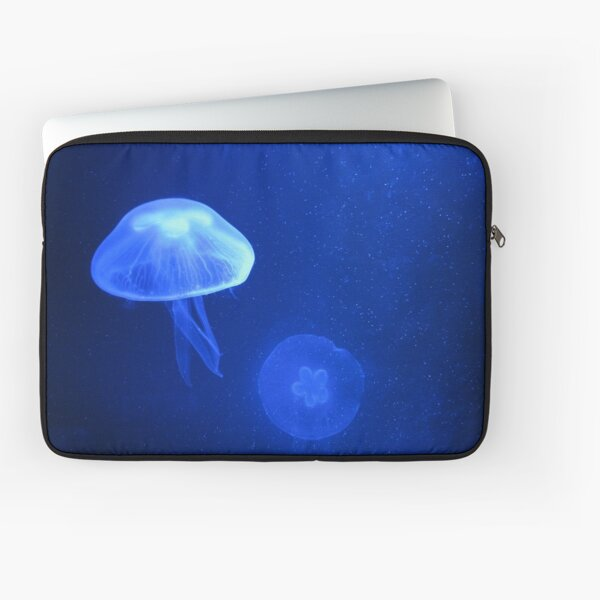 Blue Jellyfish Laptop Sleeve
