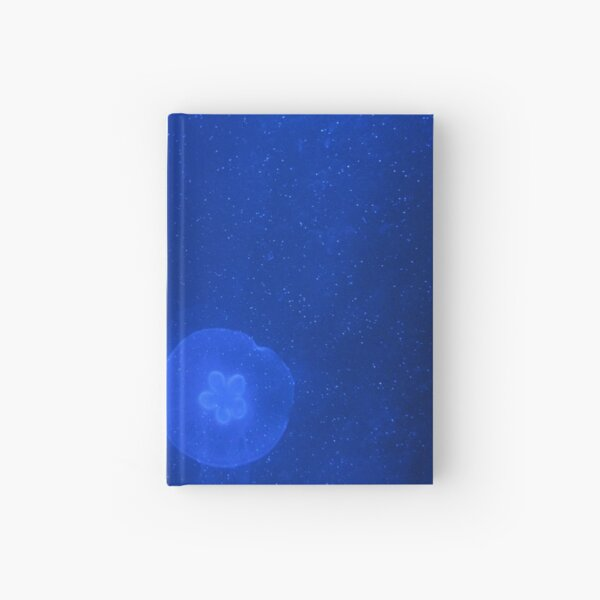 Blue Jellyfish Hardcover Journal