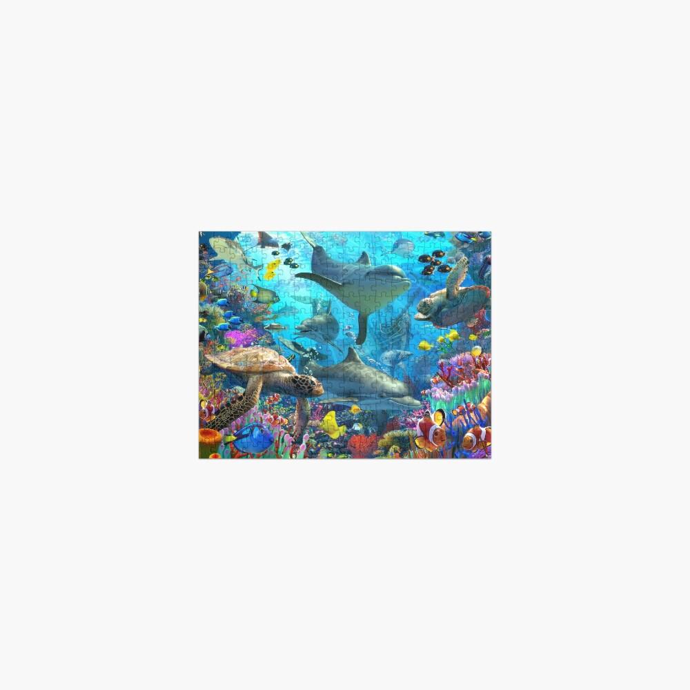 Dolphin Playground Jigsaw Puzzle
