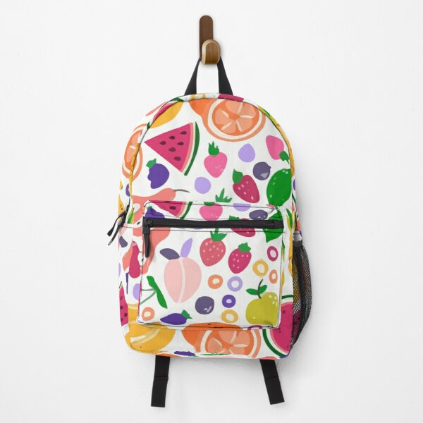 Creative Colorful Fruity Pattern Backpack