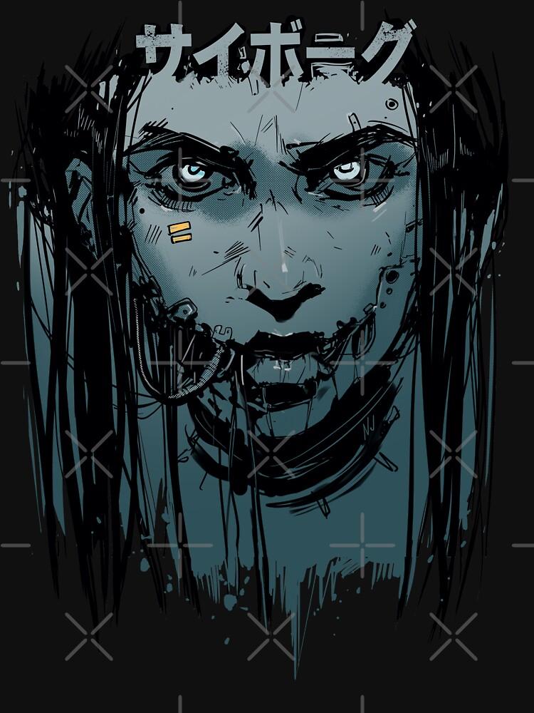 CyberGirl by NinjaJo