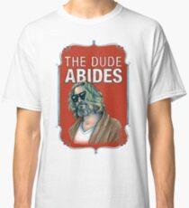 BIG LEBOWSKI-The Dude- Abides Classic T-Shirt
