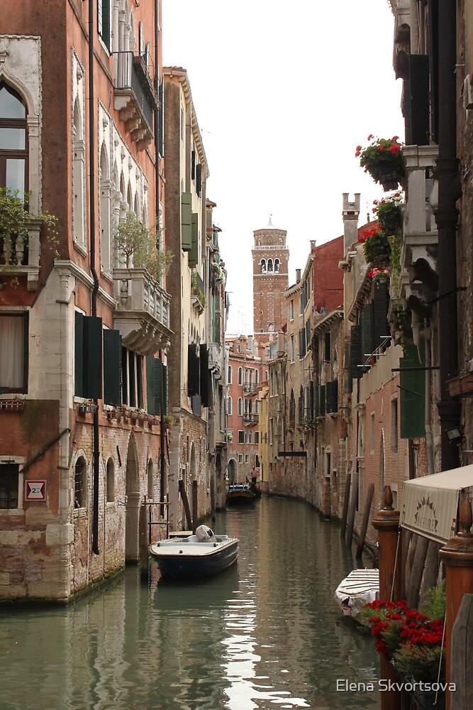 Venice canals by Elena Skvortsova
