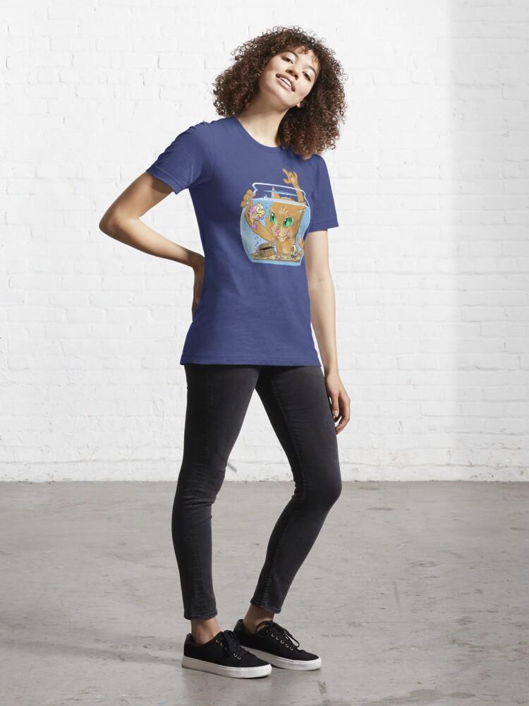 Alternate view of Afishionado Essential T-Shirt