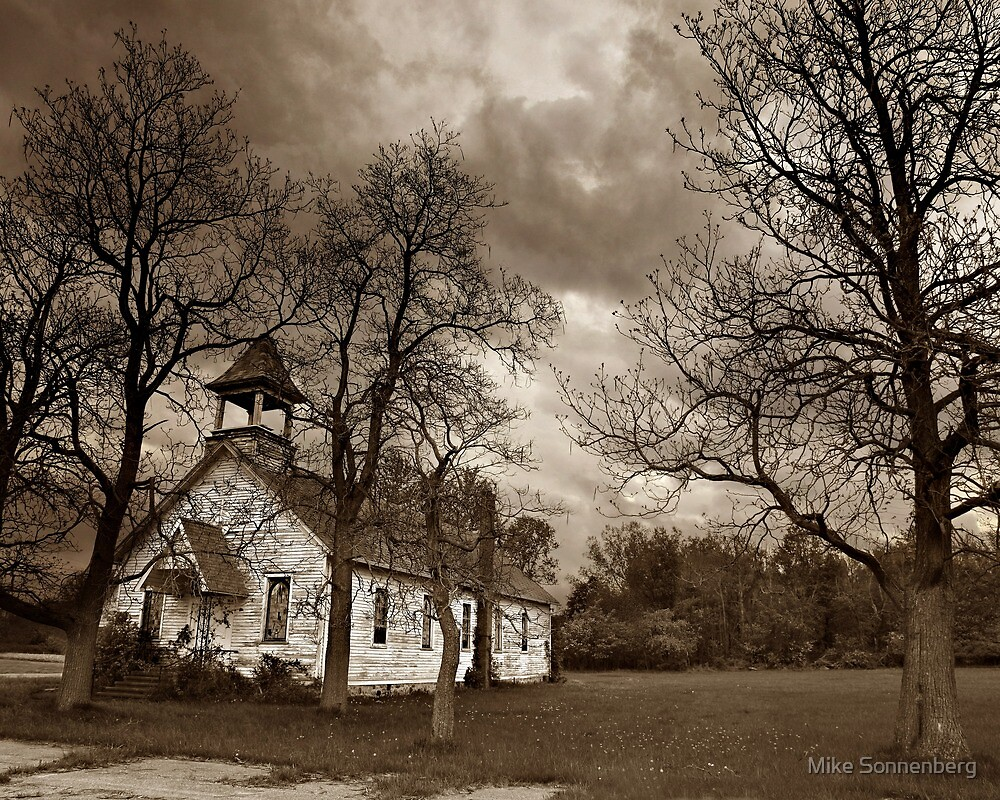 Guardian Angels Church by Mike Sonnenberg