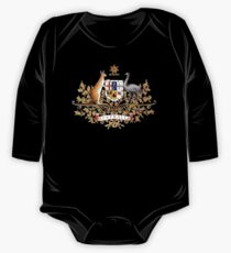 australian coat of arms One Piece - Long Sleeve
