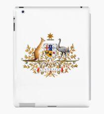 australian coat of arms iPad Case/Skin