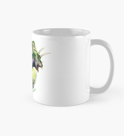 Aromantic Anchiceratops (with text)  Mug
