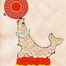 Spirograph Circus Seal by RachelEDesigns