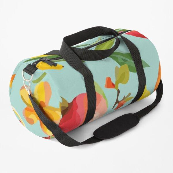 Exotic Tropical Fruits Of Summer Duffle Bag