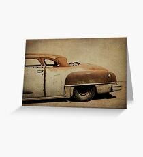 Rusty Chrysler De Soto Greeting Card