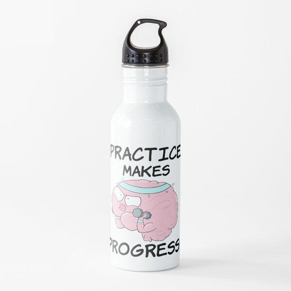 Practice Makes Progress Water Bottle