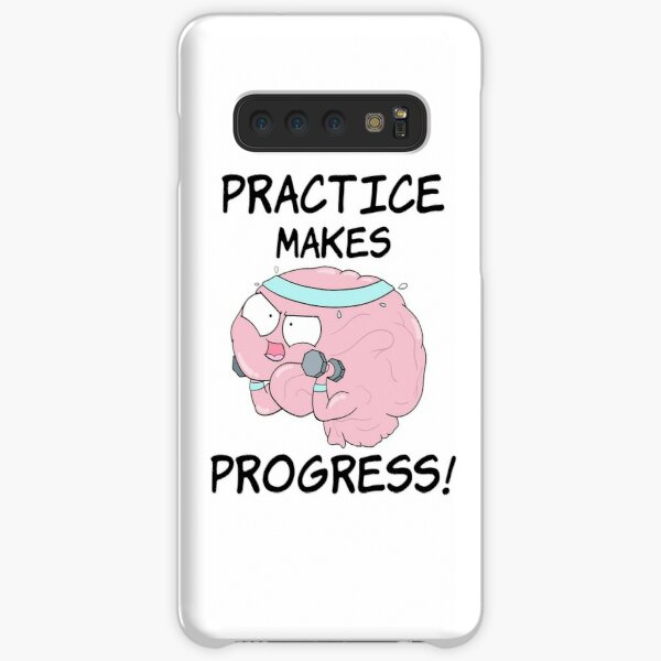 Practice Makes Progress Samsung Galaxy Snap Case