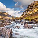 Sunlit River Coe by kernuak