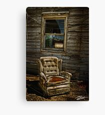 Life From A Single Window Canvas Print