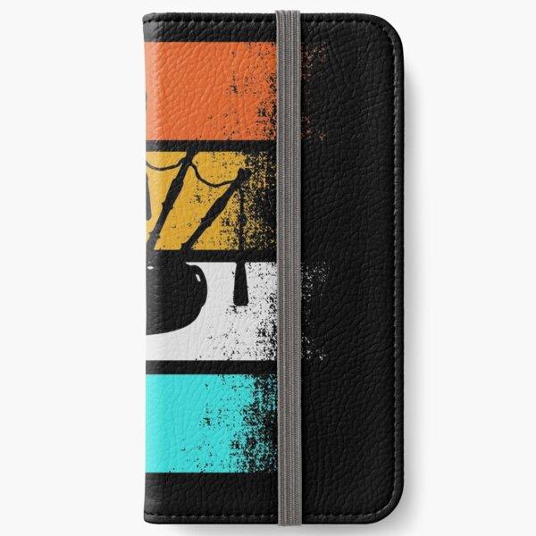 Bagpipe Vintage Scottih Kilt Music Musician Gift iPhone Wallet