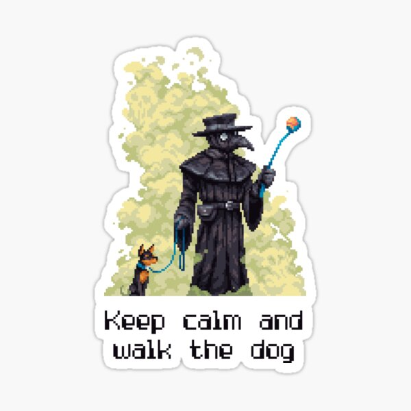 The Plague Dogs Stickers Redbubble