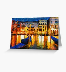Grand Canal Venice, Italy Greeting Card