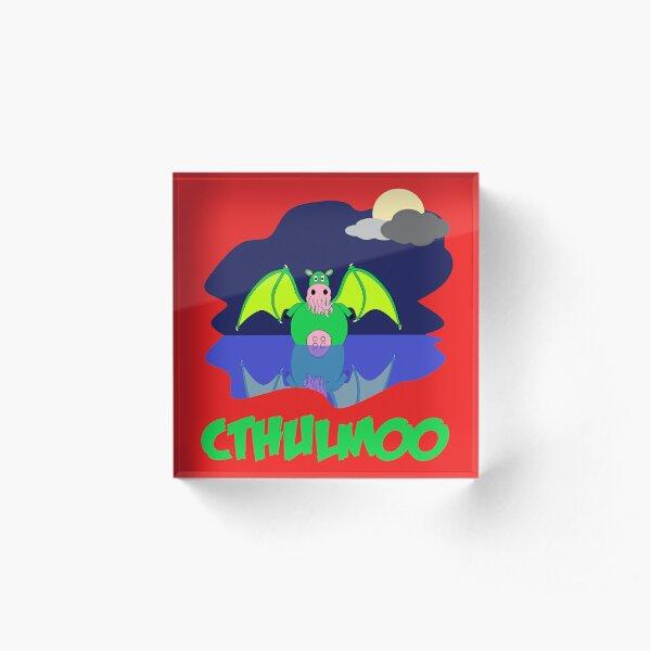 Cthulmoo Acrylic Block