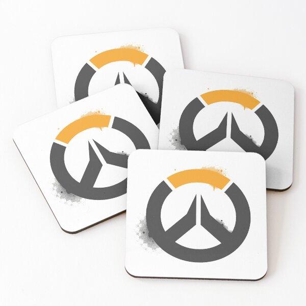 Heroes Shooter Symbol  Coasters (Set of 4)