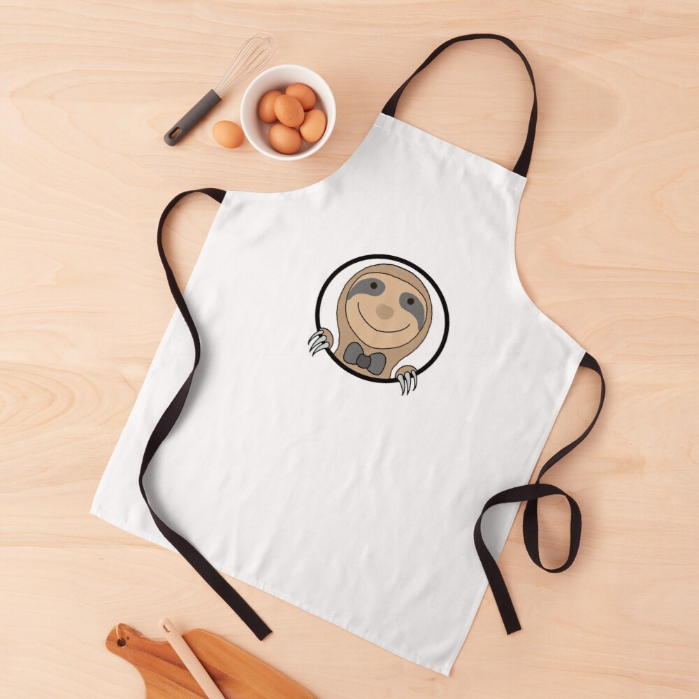 Happy sloth Apron