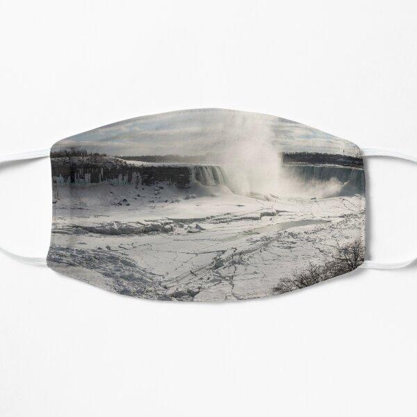 Winter Wonderland - Spectacular Niagara Falls Ice Buildup  Mask