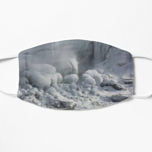 Niagara Falls Ice Buildup - American Falls, New York State, USA Mask