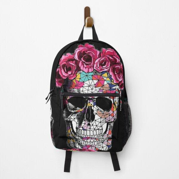 Geometric Skull Candy Backpack