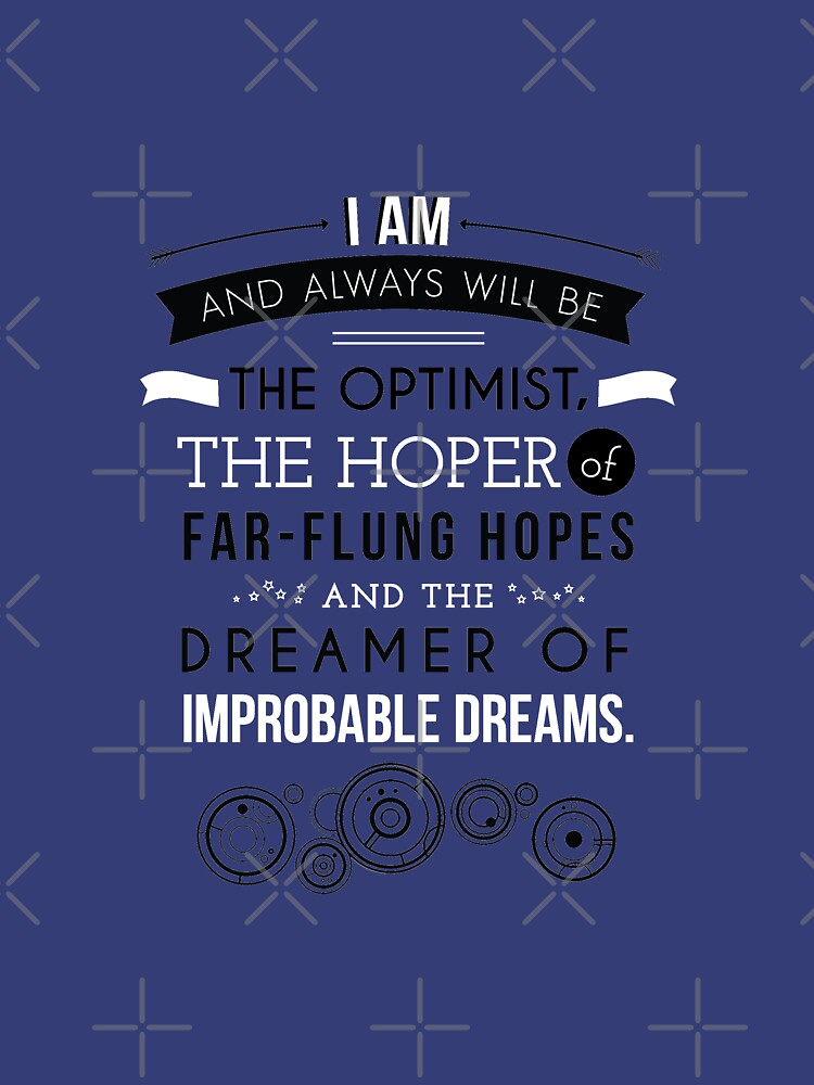 Doctor Who - The Dreamer of Improbable Dreams | Unisex T-Shirt