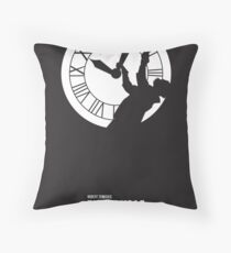 Back to the Future - Doc Brown & the Clock Tower Throw Pillow