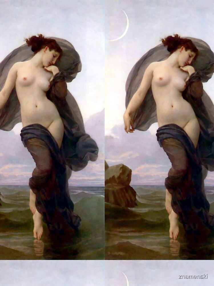 Evening Mood painting by William-Adolphe Bouguereau by znamenski