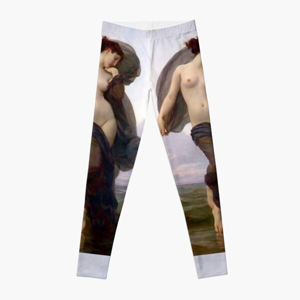 Evening Mood painting by William-Adolphe Bouguereau Leggings