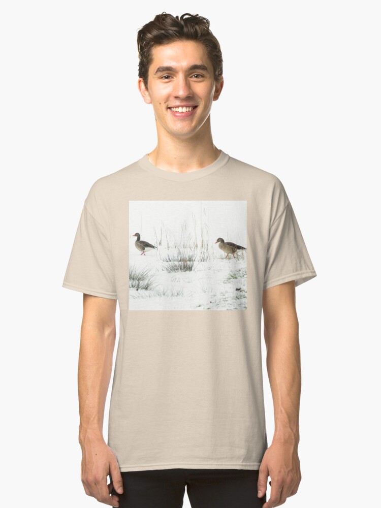 Alternate view of Into the white, wide world Classic T-Shirt