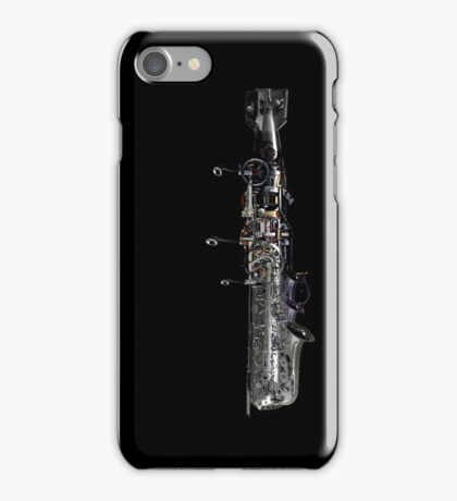 underwater airship of musical devices iPhone Case/Skin