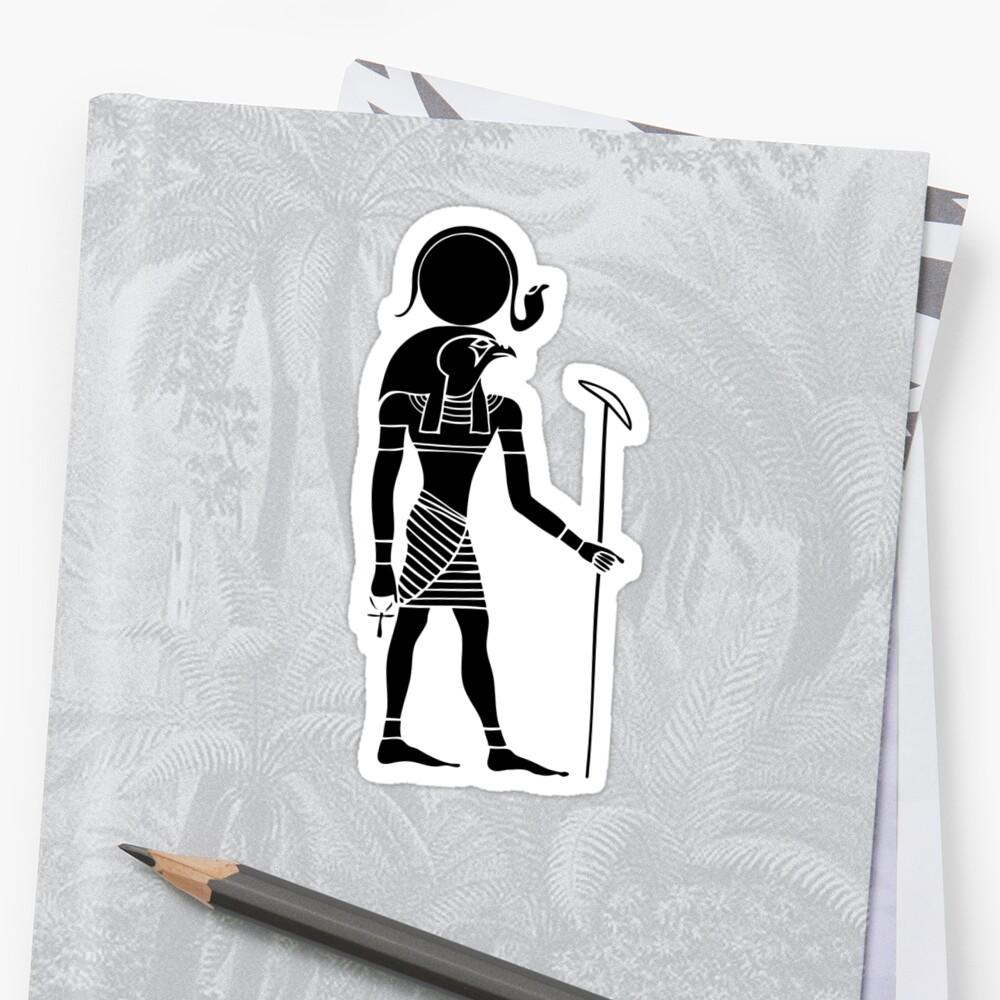 Ägyptischer Gott Ra Sticker