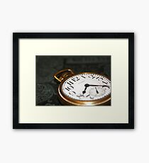 Old Watch Framed Print